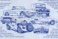 British Cars Illustration 1998