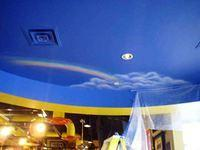 Ceiling mural Rainbow and Cloud